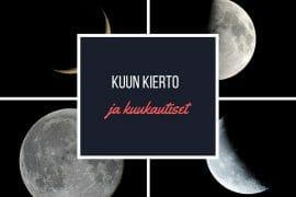 Kuun kierto ja kuukautiset